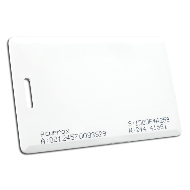 500.003 ACUPROX CARD